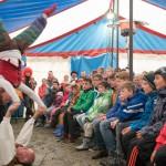 Jugendzeltlager Biberach - Besuch der Gaukler