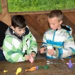 Jugendzeltlager Biberach - Arbeiskreis Jonglierbälle basteln